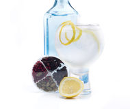 Full gin & tonic Stock Photo