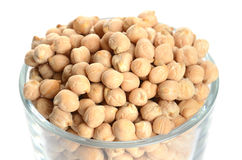 Full glass of chick peas Stock Photos