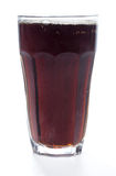 Full glass of cola drink Royalty Free Stock Image