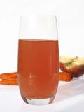 full glass fruktsaft Arkivfoton