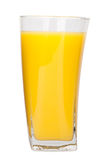 Full glass of orange juice Stock Images