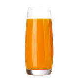 Full glass of orange juice Stock Image
