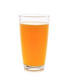Full glass of orange juice Royalty Free Stock Photos