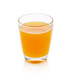 Full glass of orange juice Royalty Free Stock Photos