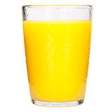 Full glass of orange juice Stock Images