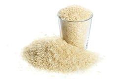 Full glass of rice Stock Photo