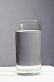 Full glass of water. The full glass of water Royalty Free Stock Photos