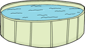 Full Green Swimming Pool Stock Photos