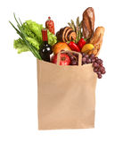 Full grocery bag Stock Photo