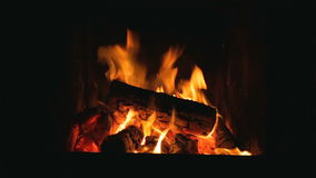 Full HD Fireplace Video stock video footage