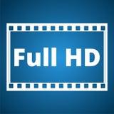 Full HD icon Stock Photo