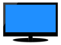 Full HD LCD Television Royalty Free Stock Photos