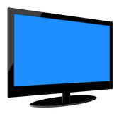 Full HD LCD Television Stock Photo