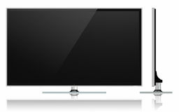 Full HD Led Television stock illustration