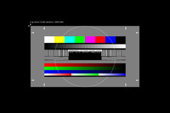Full HD test pattern. Stock Images