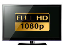 Full HD TV Royalty Free Stock Photos