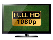 Full HD TV Royalty Free Stock Photo