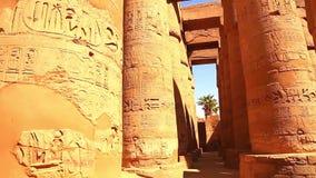 Full HD video för Luxor tempel stock video
