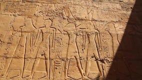 Full HD video för Luxor tempel arkivfilmer