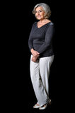 Full height portrait of mature woman Royalty Free Stock Photography