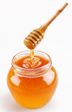 Full honey pot Royalty Free Stock Image