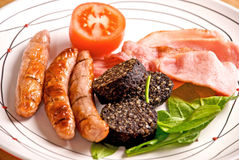 Full Irish Breakfast Royalty Free Stock Photography