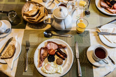 Full irish breakfast Royalty Free Stock Image