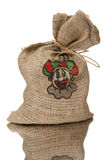 Full jute bag sinterklaas Royalty Free Stock Photo