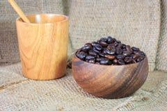 full kaffekopp Royaltyfri Foto