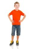 Full längdstående för pojke royaltyfri bild