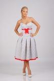 full längdtappning för klänning Arkivbilder