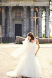 Full lenght bridal portrait Stock Photos
