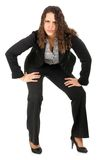 Full lenght business woman Royalty Free Stock Image
