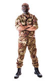 Full lenght soldier Stock Photos