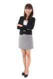 Full length Asian businesswoman Stock Photos
