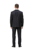 Full-length backview of businessman Royalty Free Stock Photos