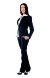 Full length of beautiful businesswoman Stock Photography
