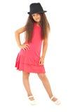 Full length of beautiful girl model Stock Photography