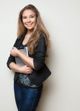 Full length of beautiful young girl Royalty Free Stock Photo