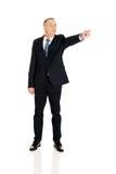 Full length boss dismissing someone Stock Photography