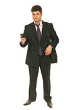 Full length of business man Stock Photos