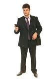 Full length of business man Stock Photos