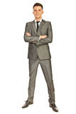 Full length of business man Royalty Free Stock Photos
