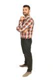 Full length of business man Stock Image
