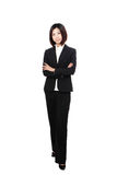 Full length Business woman confident smile Stock Photos
