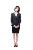 Full length Business woman smile standing Stock Photography