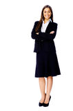 Full length businesss woman Royalty Free Stock Photos