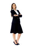 Full length businesss woman Royalty Free Stock Images
