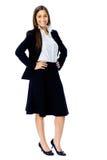 Full length businesss woman Stock Image