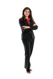 Full length businesswoman portrait Royalty Free Stock Image